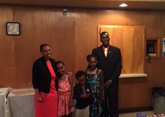 Reception for Rev. Karuiki and Family
